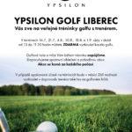Zveme Vás na veřejné tréninky golfu s trenérem!